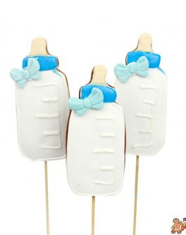 Baby Bottle Cookie Pops