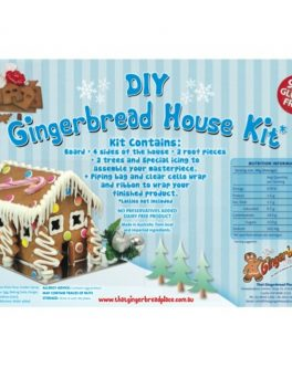 DIY Gluten Free 99% Gingerbread House Kits
