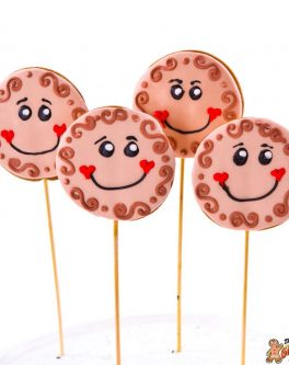 Cutie Pie Cookie Pops