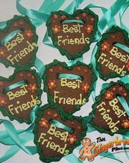 Lebkuchenherzen Gingerbread Hearts - Best Friends
