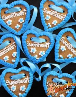 Lebkuchenherzen German Gingerbread Hearts Oktoberfest - Sweetheart