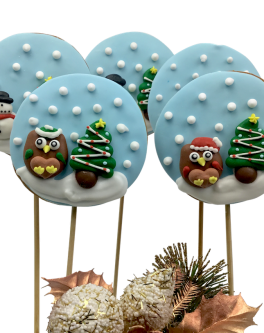 Cookie Pop Snowglobes