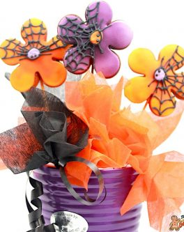 Halloween Flowers Bouquet