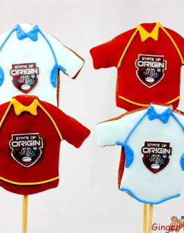 State of Origin Jersey Cookie Pops