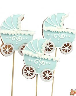 Contemporary Baby Pram Cookie Pops