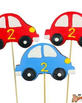 Beetle Car Cookie Pops
