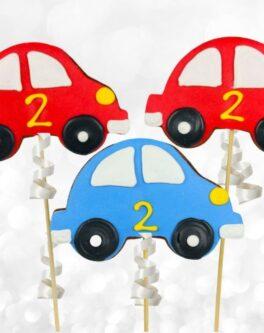 Beetle Car Cookie Pops