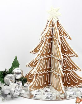 Rustic Style Gingerbread Tree