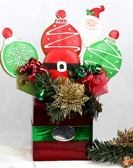 Santa Belly Bouquet