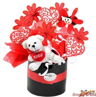 Bouquet valentine arrangemnt