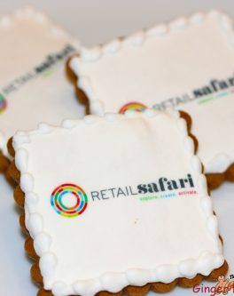 Logo Cookies Square Piped