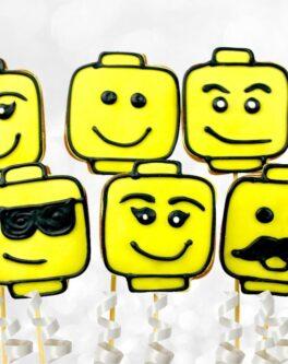 Lego Cookie Pops
