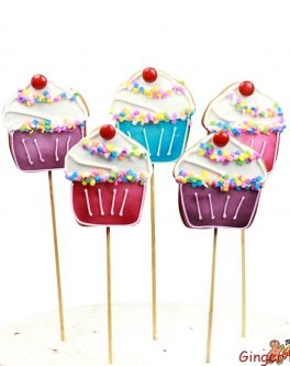 Cupcake Cookie Pop