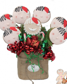 Jolly Santa Bouquet