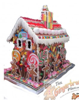 Hansel and Gretal Gingerbread House
