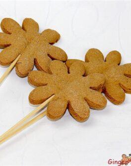 DIY Cookie pop flowers