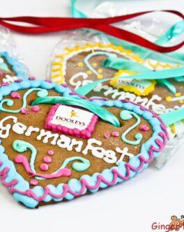Lebkuchenherzen Gingerbread Hearts - Oktoberfest Events