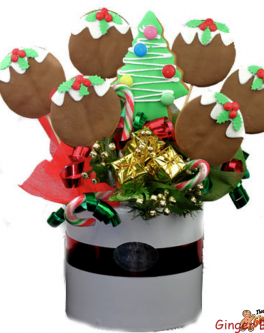 Christmas Pudding bouquet