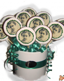 Photograph or our memory cookie bouquets