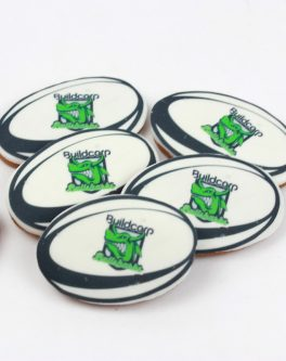 Personalised Football Cookie Favours