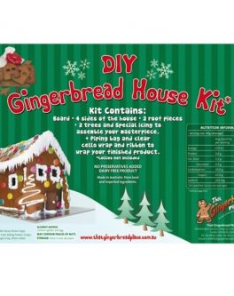 DIY Gingerbread House Kits