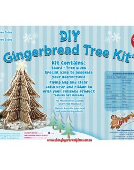 DIY Gluten Free 99% Gingerbread 3D Tree Kits