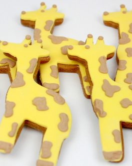 Giraffe Cookie Favours