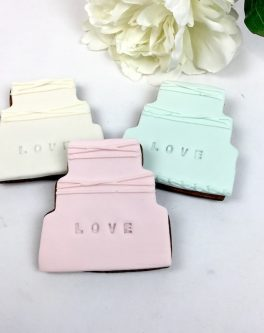 Imprint Love Cake Favours