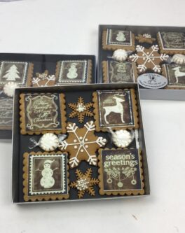 Rustic American Christmas Gift Box