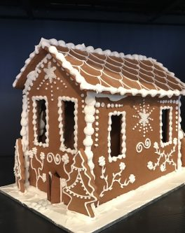 Hansel and Gretel RUSTIC Gingerbread House - Small