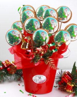 Christmas Logo Bouquet