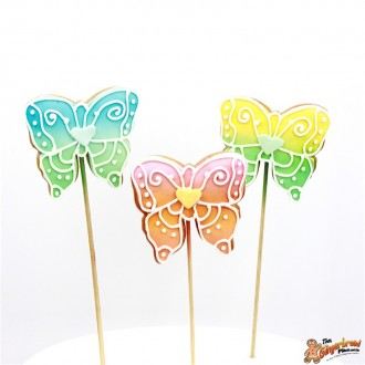 Butterfly Multicolour Cookie Pops1