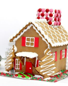 American Style Gingerbread House