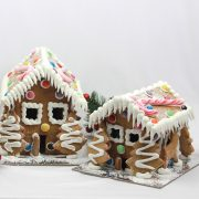 Traditional Gingerbread House – Medium and Small Sizes