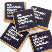 Logo cookies abnormal beauty company w
