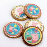 Logo cookies peppa pig