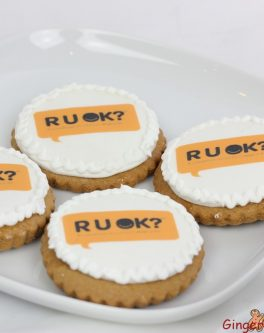 R U OK Day cookies for fundraising events