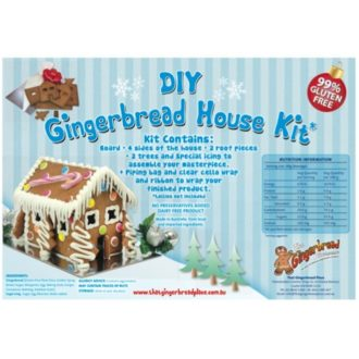 99% gluten free gingerbread house kits