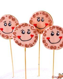 Cutie Pie Cookie Pops