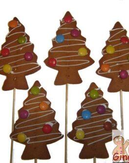 Xmas Basic Tree Cookie Pops