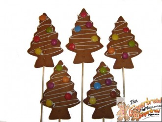 Xmas Basic Tree Cookie Pops