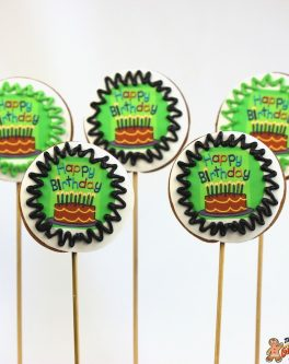 Message Cookie Pops