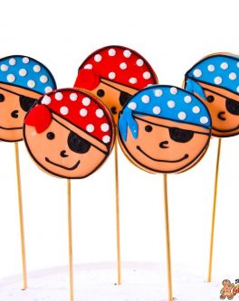 Pirate Cookie Pop