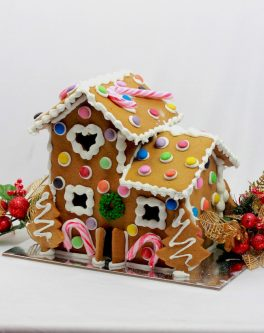 Old English Gingerbread House