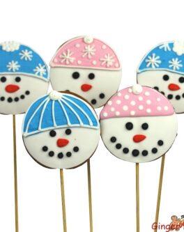 Mr Frosty Cookie Pops