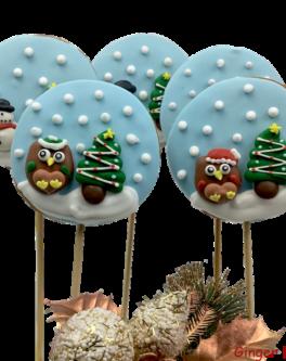 Cookie Pop Snowglobes