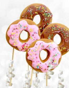 Donut Cookie Pops