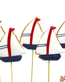 Sailing Boat Cookie Pops