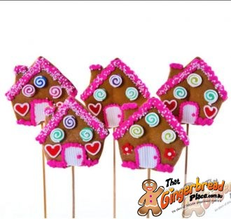 Cutie House Cookie Pops