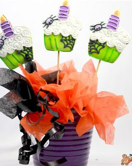 Halloween Cupcake Bouquet